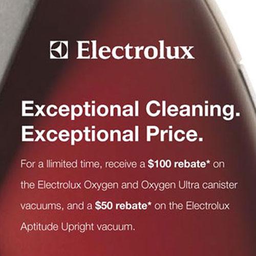 Electrolux Print Ad